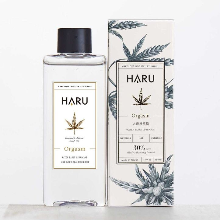 ORGASM 大麻熱浪迷情熱感潤滑液